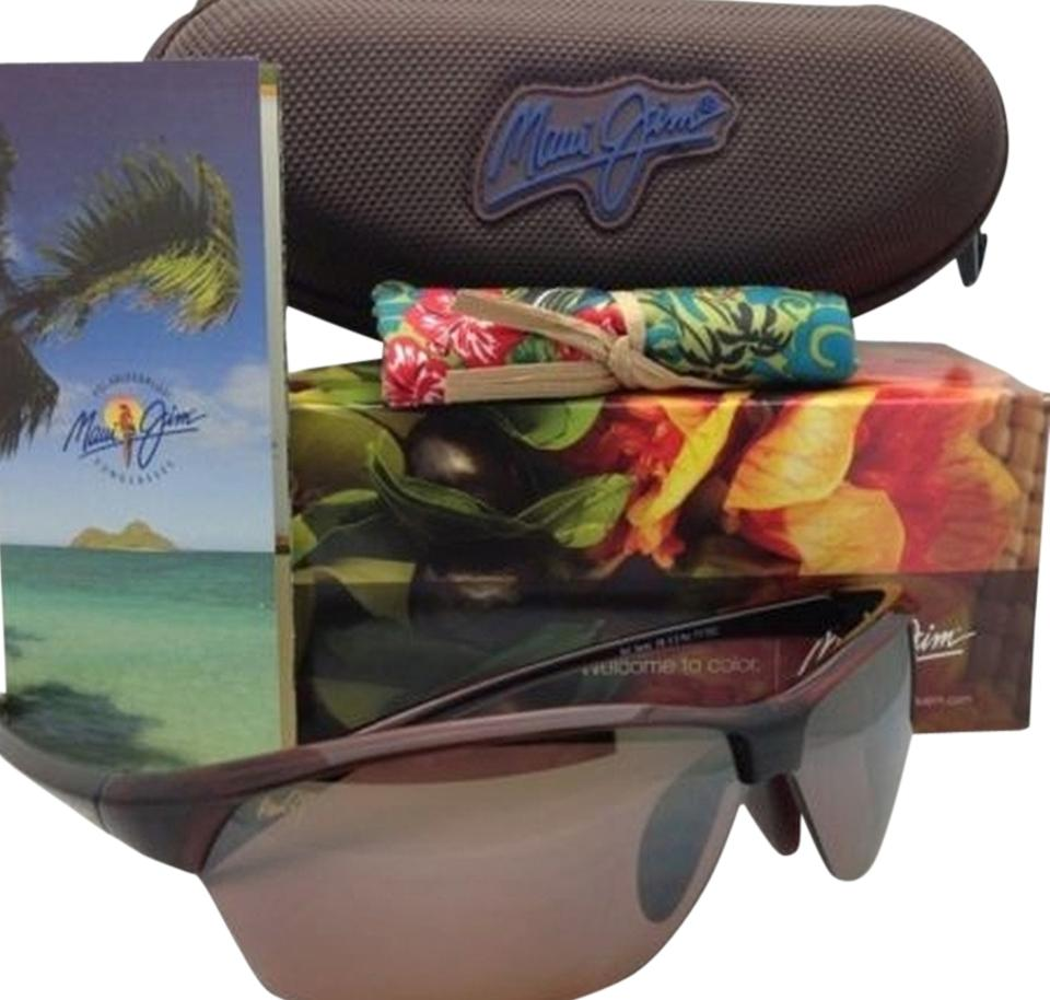 2b90bae6e8 Maui Jim Polarized MAUI JIM Sunglasses HOT SANDS MJ 426-26 71-16 Rootbeer  ...