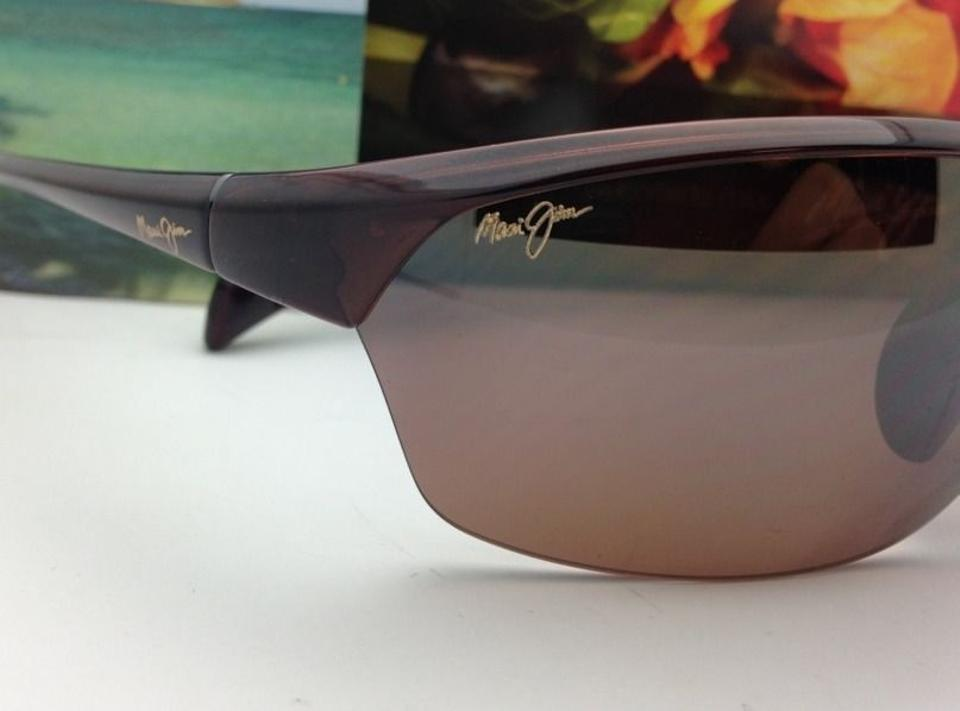 0296bdbeb1 Maui Jim Hot Sands Mj 426-26 71-16 Rootbeer W/ Hcl Bronze Polarized Frame  W/ Lenses Sunglasses - Tradesy