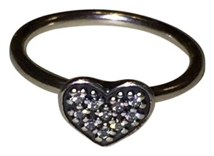 PANDORA Brand New Pandora Heart ring CZ very sparkling