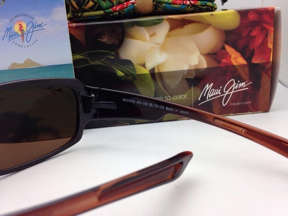 c9ce8a7cf90 Maui Jim Mj H 415-26b Bamboo Forest Rootbeer W  Bronze Lens ...