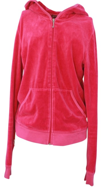 Preload https://item4.tradesy.com/images/juicy-couture-pink-hoodie-in-excellent-condition-activewear-sportswear-size-12-l-32-33-1262873-0-0.jpg?width=400&height=650