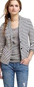 J.Crew Maritime Stripe Cotton Washable Blazer