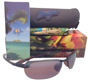 Maui Jim New MAUI JIM Sunglasses MAKAHA MJ R 405-10 Tortoise Frames w/ Polarized Rose Lenses