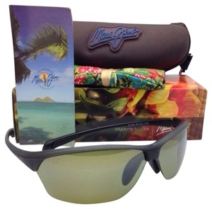 3c91ce7c4ab Maui Jim New MAUI JIM Sunglasses HOT SANDS MJ 426-11M 71-16 Matte