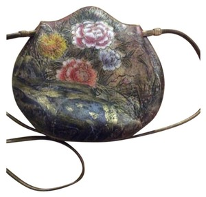 Jane Yoo Multi Hand Painted Clutch