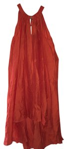 H&M short dress Orange on Tradesy