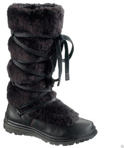 Merrell Leather Comfortable Black Boots