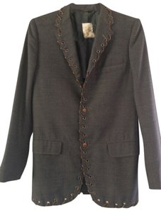 Rag Retro Boho Jacket Grey Blazer