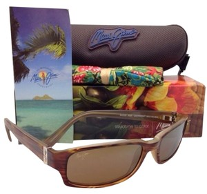 Maui Jim New MAUI JIM Sunglasses ATOLL MJ H 220-10 Tortoise Frames w/ Brown Polarized Lenses