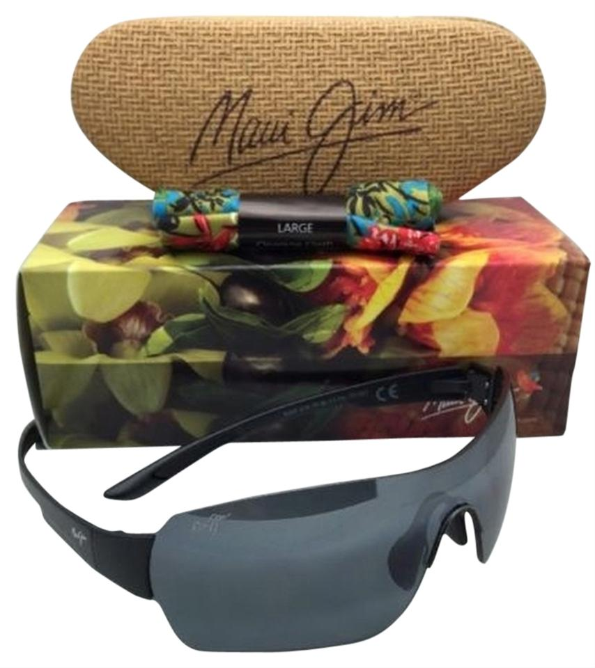 48bb06efef6 Maui Jim Polarized MAUI JIM Sunglasses NIGHT DIVE MJ 521-2M Black Frame w   ...