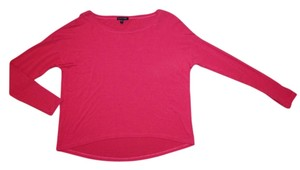 Eileen Fisher Shirt Lover Runway Neiman Marcus Couture Top Red/Orange/Pink