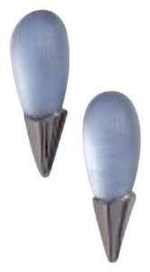 Alexis Bittar Alexis Bittar Lucite Liquid Metal Capped Stud Earrings