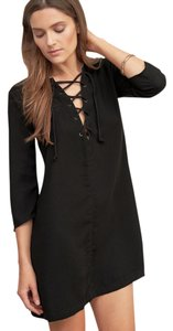 Abercrombie & Fitch short dress Black Lbd Little Lace on Tradesy