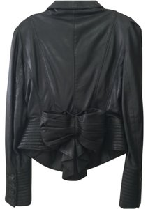 Betsey Johnson Leather Rare Leather Jacket