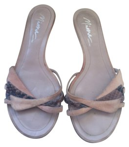 Mima Pink/brown Sandals
