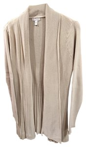 Charter Club Sweater Open Front Ribbed Duster Cardigan