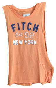 Abercrombie & Fitch Top Orange