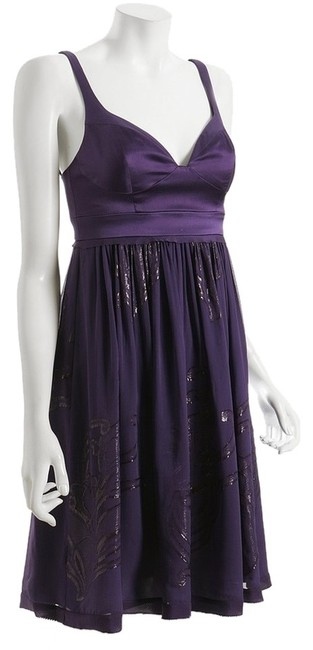 Nicole Miller Party Holiday Empire Waist Night Out Date Night Dress