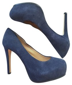 Gianni Bini Navy blue Platforms