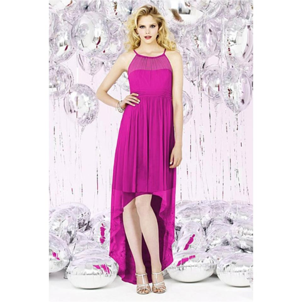 Dessy Tutti Frutti Chiffon Hi Lo In Feminine Bridesmaid/Mob Dress ...
