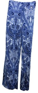 Karen Kane Relaxed Pants blue