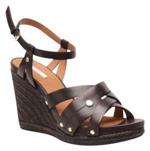 Geox brown Wedges