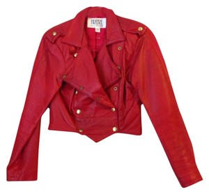 Firenze Red Leather Jacket