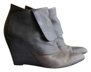 Givenchy Leather Wedge Brown Boots