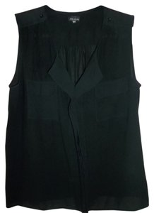 Zenobia Evening Out Work Dress Up Dress Down Top Black