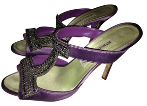 Manolo Blahnik Purple Formal