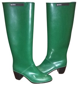 Marc Jacobs Green Boots