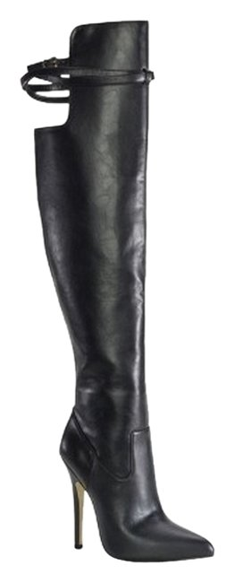 Item - Black Over-the-knee Boots/Booties Size US 8 Regular (M, B)