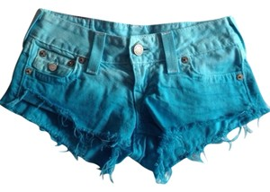 True Religion Shorts Blue Ombr