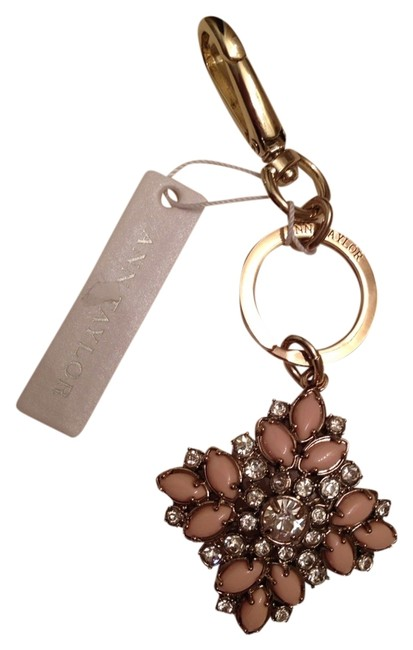 Item - Gold/Multi Gold/Stone Key Chain