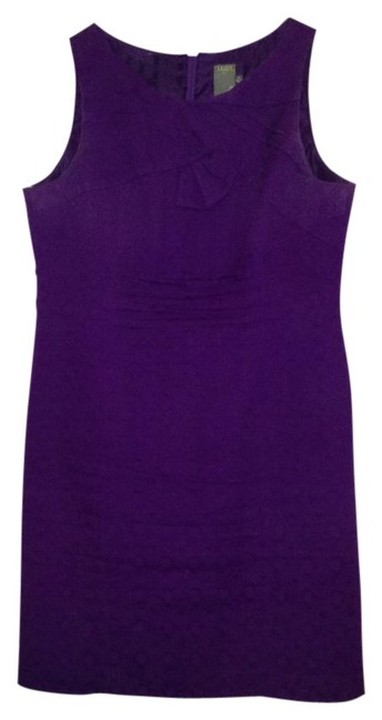 Preload https://item4.tradesy.com/images/taylor-purple-above-knee-workoffice-dress-size-14-l-12638-0-0.jpg?width=400&height=650