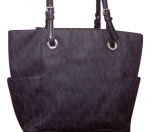 Michael Kors Mk Signature Tote Signature Tote Shoulder Bag
