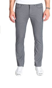 ambiguous Straight Pants Houndstooth Grey
