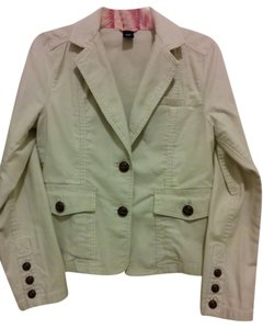 gap Cream Blazer