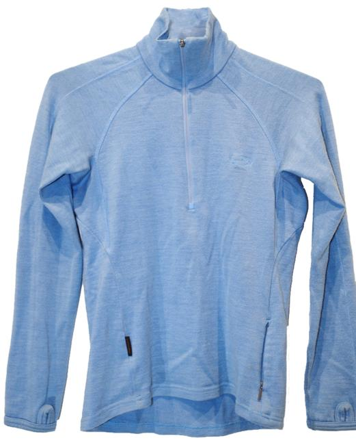 Item - Blue Long Sleeve Activewear Top Size 2 (XS, 26)