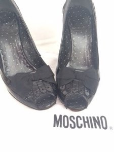 Moschino Cheap & Chic Black Pumps