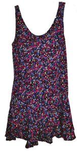 Free People short dress Purple/Blue Multi on Tradesy
