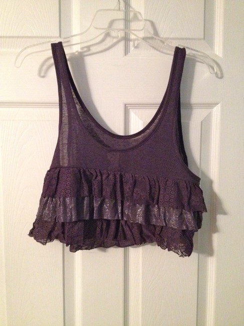 Free People Top Muted Purple