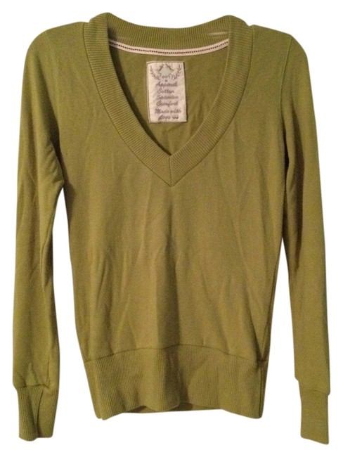 Preload https://item2.tradesy.com/images/poof-apparel-muted-chartreuse-sweaterpullover-size-6-s-1264281-0-0.jpg?width=400&height=650