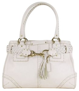 Coach Handbag Tote in Ivory