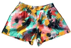 Nordstrom Mini/Short Shorts Black, White, Orange, Teal, Pink
