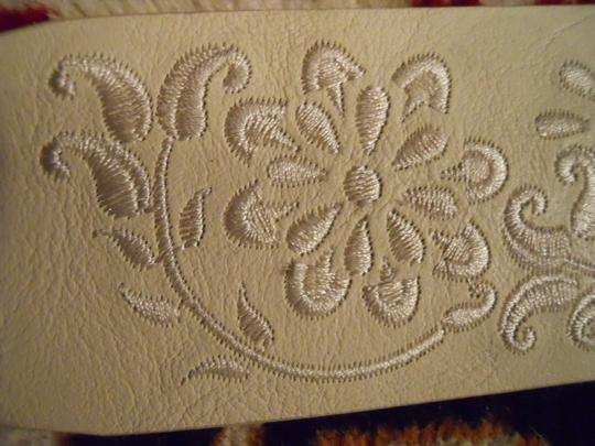 Ann Taylor Ann Taylor embroidered leather