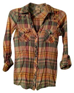 Daytrip Button Down Shirt Multi