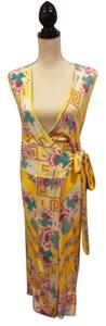 Yellow Maxi Dress by Diane von Furstenberg