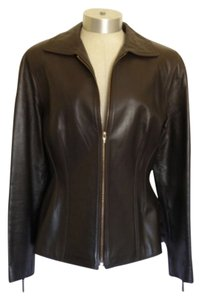 NL LN Brown Leather Jacket