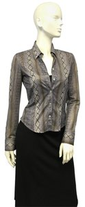 Laundry by Shelli Segal Sassy in Snake Print Top Size 4
